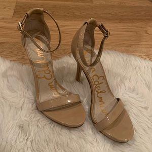 Sam Edelman Nude Ankle Strap sandal